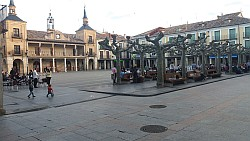 Plaza Mayor von El Burgo de Osma